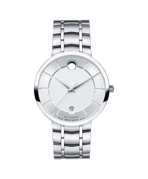 Movado Men's 1881 Automatic Watch, 39.5 mm Stainless Steel 0606915 - Arnik Jewellers