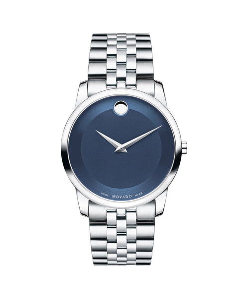 Movado Men's Museum Classic Watch, 40 mm Stainless Steel 0606982 - Arnik Jewellers