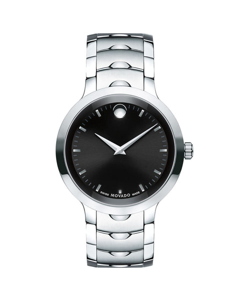 Movado Men's Luno Watch, 40 mm Stainless Steel 0607041 - Arnik Jewellers