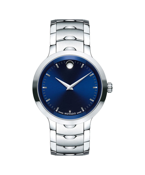 Movado Men's Luno Watch, 40 mm Stainless Steel 0607042 - Arnik Jewellers