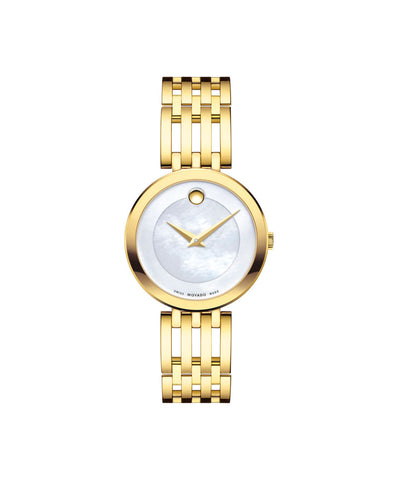Movado Esperanza Women's Watch, 28 mm Yellow Gold PVD 0607054 - Arnik Jewellers