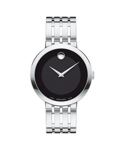 Movado Esperanza Men's Watch, 39 mm Stainless Steel 0607057 - Arnik Jewellers