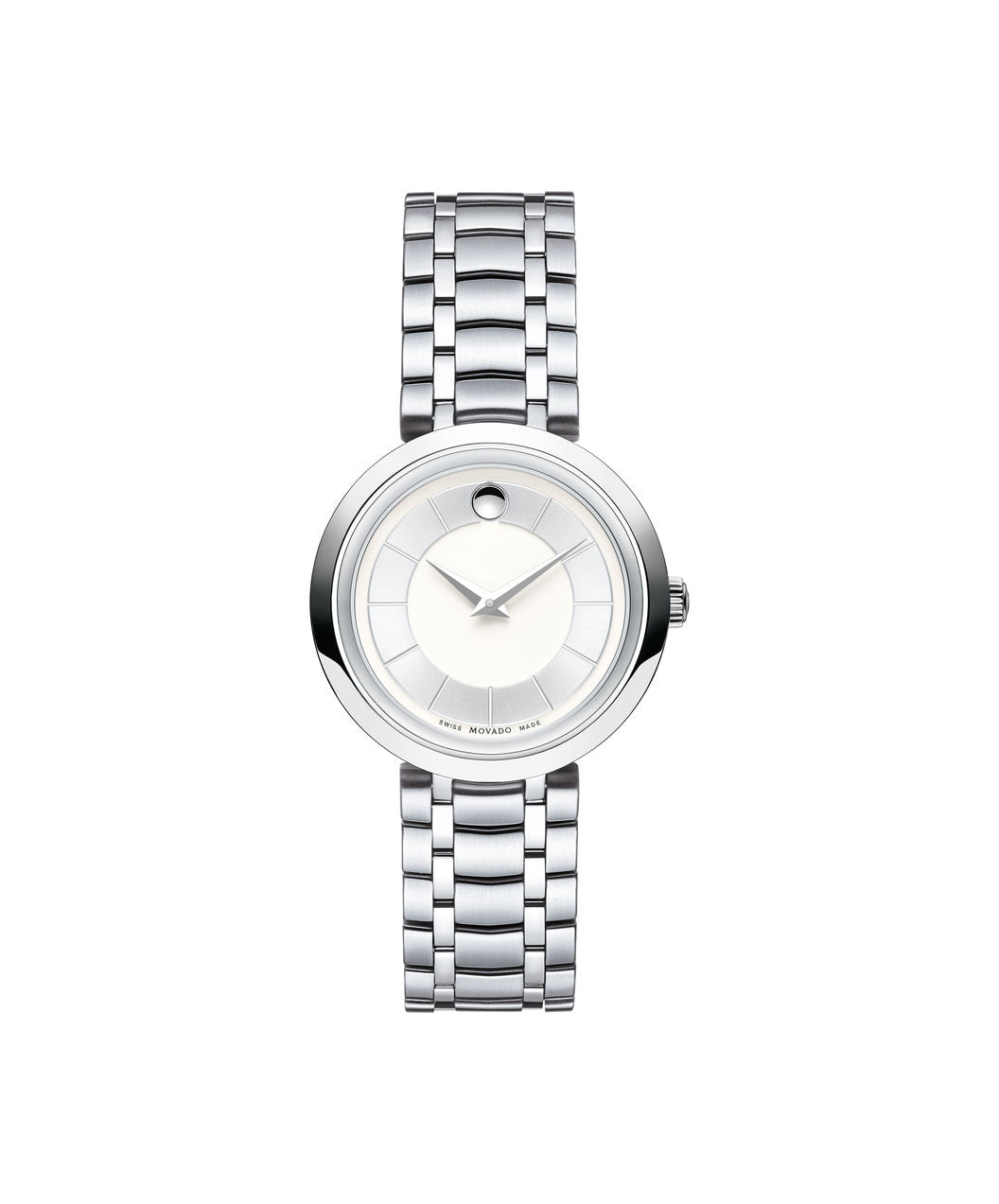 Movado Women's 1881 Quartz Watch, 28 mm Stainless Steel 0607098 - Arnik Jewellers