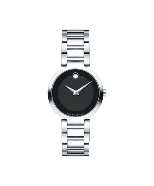 Movado Modern Classic Women's Watch, 28 mm Stainless Steel 0607101 - Arnik Jewellers