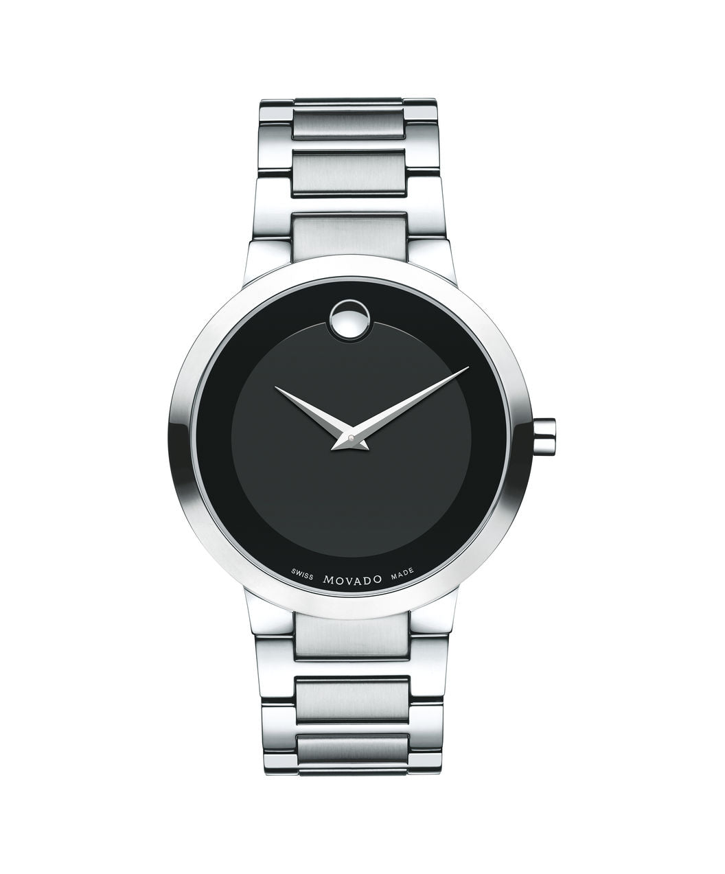 Movado Modern Classic Men's Watch, 39.2 mm Stainless Steel 0607119 - Arnik Jewellers