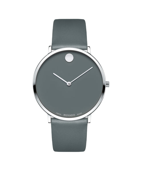Movado Men's Museum Dial 70th Anniversary Special Edition Watch, 40 mm Ultra Slim Stainless Steel 0607147 - Arnik Jewellers
