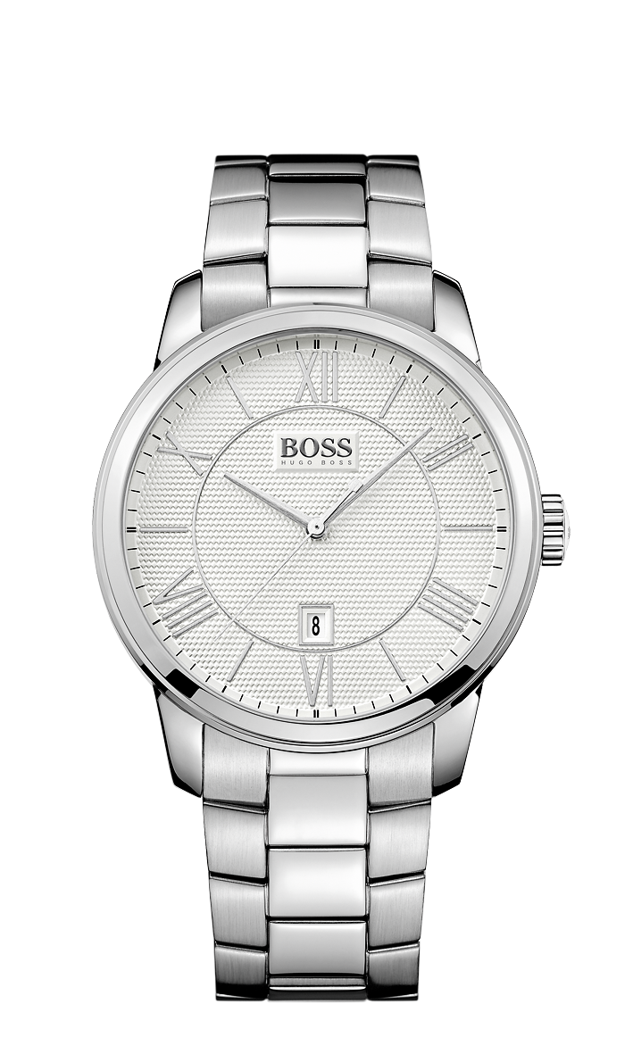 Hugo Boss 1512976 Men's Silver Stainless-Steel Quartz Watch - Arnik Jewellers