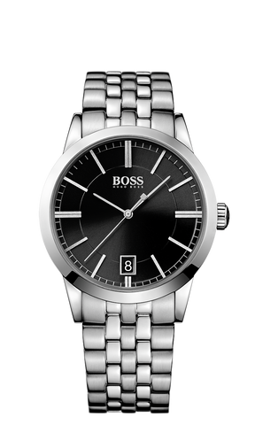 Hugo Boss 1513133 Men's Silver Stainless-Steel Quartz Watch - Arnik Jewellers