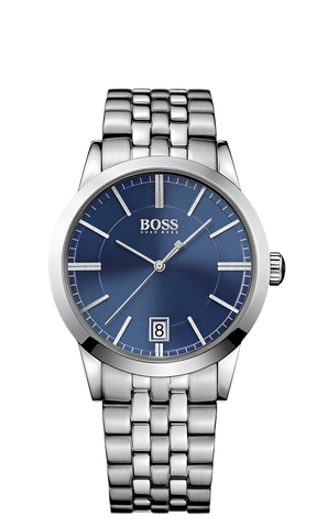 Hugo Boss 1513135 Men's Boss Black Stainless Steel Bracelet Watch 42mm - Arnik Jewellers