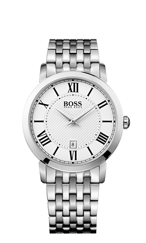Hugo Boss 1513139 Men's Silver Stainless-Steel Quartz Watch - Arnik Jewellers
