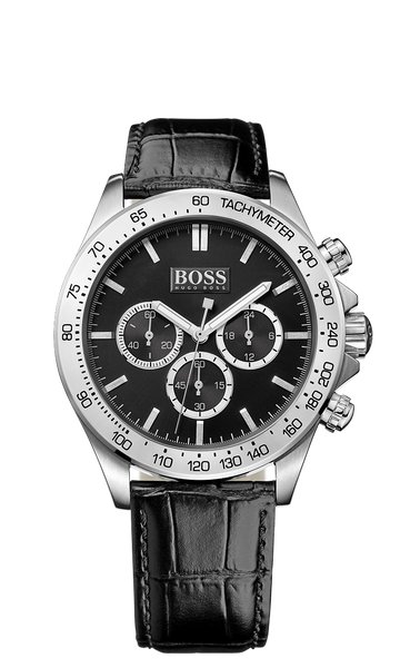Hugo Boss 1513178 Black Ikon Mens Chronograph Watch - Arnik Jewellers