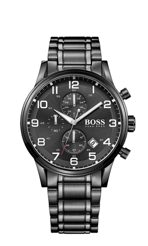Hugo Boss 1513180 Chronograph Stainless Steel 3-Hand Quartz Watch  - Arnik Jewellers