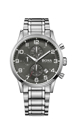 Hugo Boss 1513181 Men's Chronograph Aeroliner Stainless Steel - Arnik Jewellers
