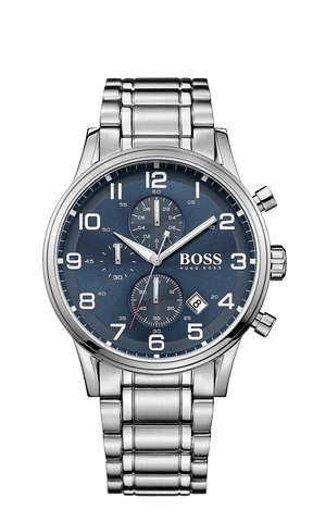 Hugo Boss 1513183 Chronograph Stainless Steel 3-Hand Quartz Watch  - Arnik Jewellers