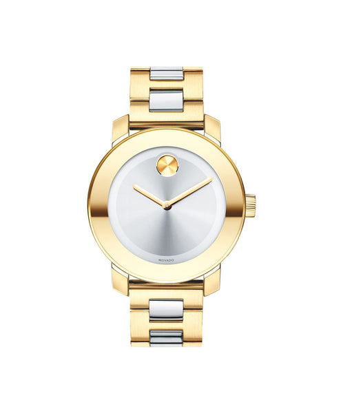 Midsize Movado BOLD watch, 36 mm Yellow Gold Ion-Plated Stainless Steel 3600129 - Arnik Jewellers
