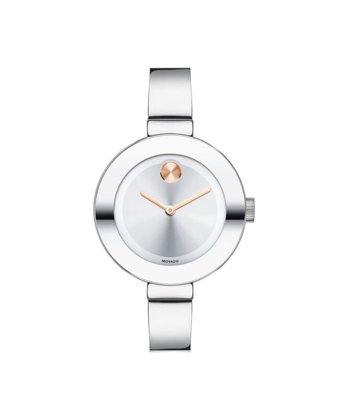 Midsize Movado BOLD Watch, 34 mm Stainless Steel 3600194 - Arnik Jewellers
