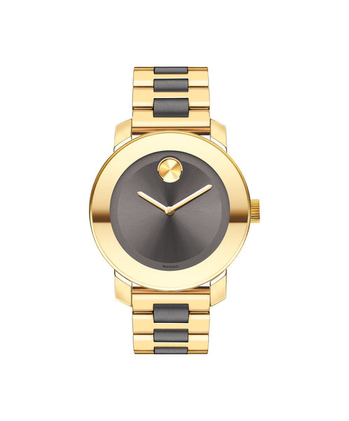 Midsize Movado BOLD watch, 36 mm Yellow Gold Ion-Plated Stainless Steel 3600338 - Arnik Jewellers