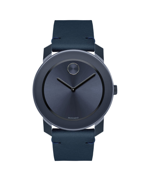 Large Movado BOLD Watch, 42 mm TR90 Composite & Stainless Steel 3600370 - Arnik Jewellers