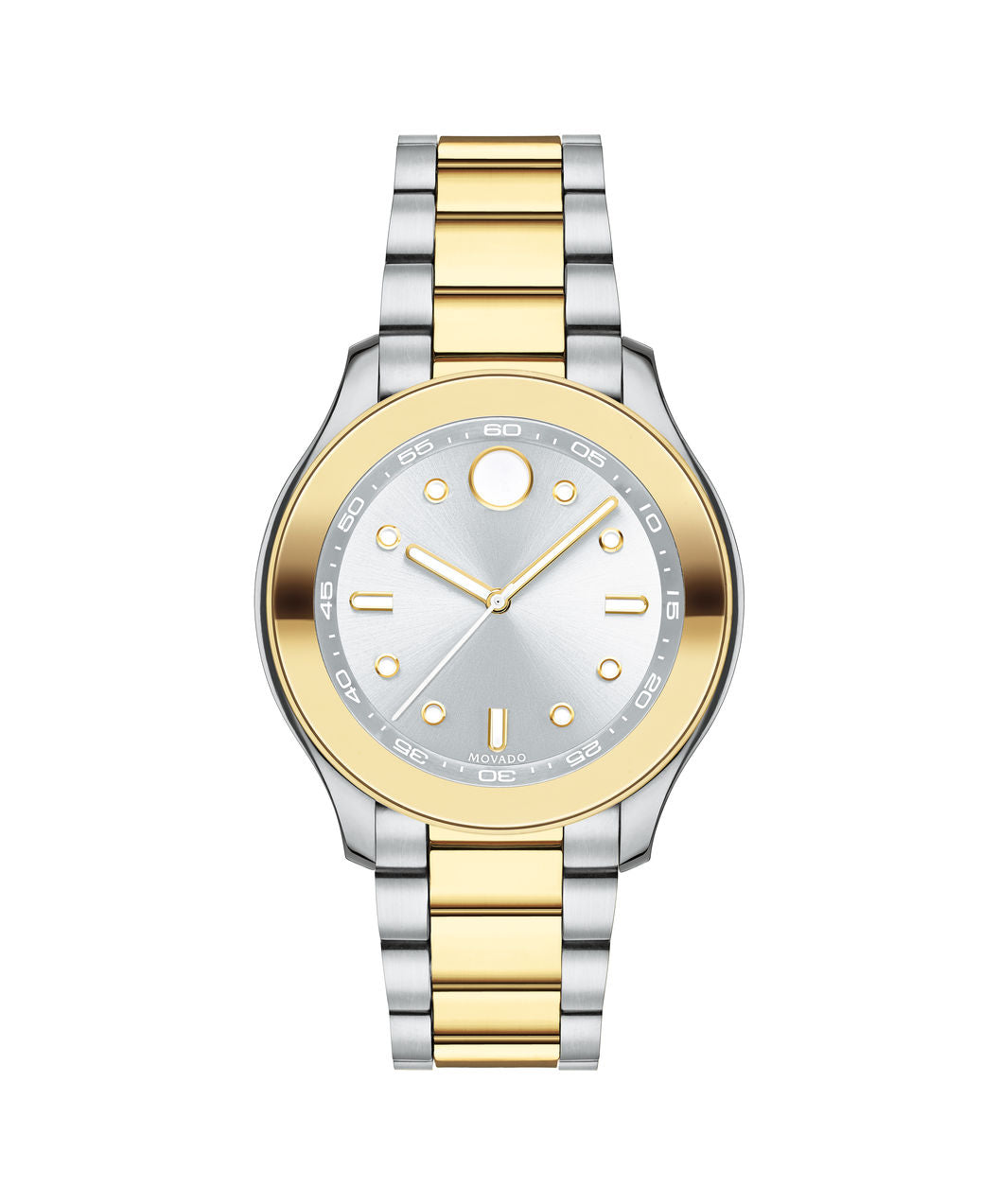 Mid-Size Movado BOLD Sport Watch, 38 mm Stainless Steel & Yellow Gold Ion-Plated 3600418 - Arnik Jewellers