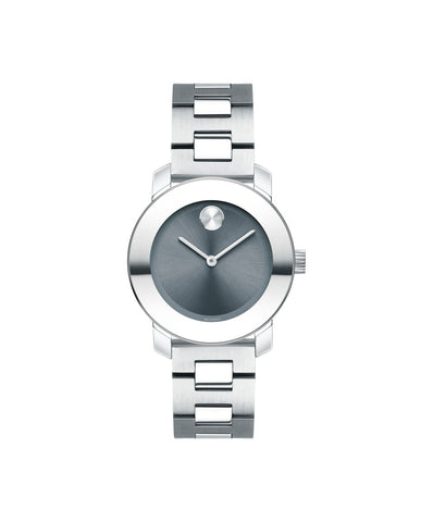 Smaller Mid-Size Movado BOLD Watch, 30 mm Stainless Steel 3600436 - Arnik Jewellers