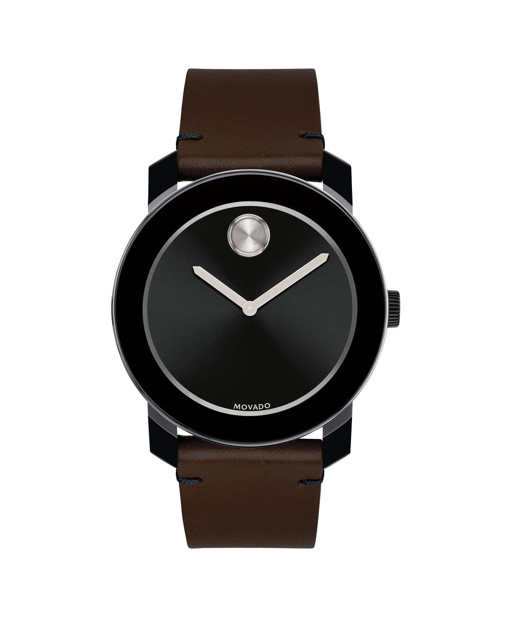 Large Movado BOLD Watch, 42 mm Black TR90 Composite Material & Stainless Steel 3600443 - Arnik Jewellers