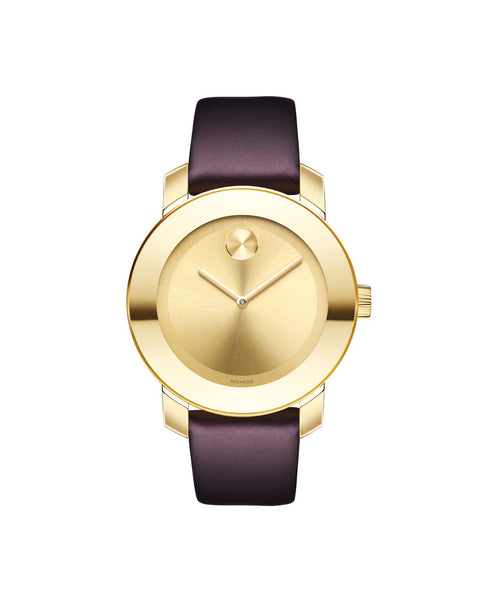 Mid-Size Movado BOLD Watch, 36 mm Pale Gold Ion-Plated Stainless Steel 3600456 - Arnik Jewellers