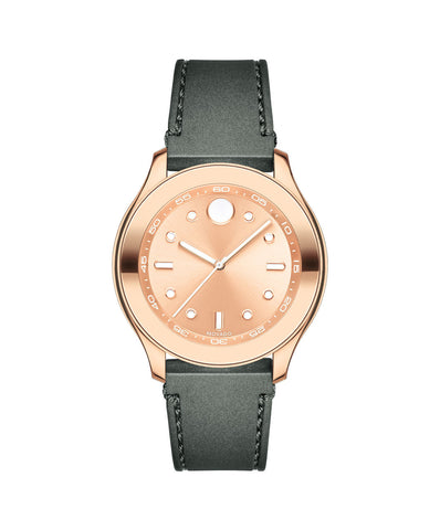 Mid-Size Movado BOLD Sport Watch, 38 mm Rose Gold Ion-Plated Stainless Steel 3600458 - Arnik Jewellers