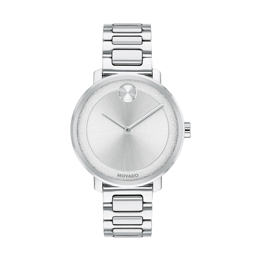 Movado BOLD Shimmer Midsize 34 mm Stainless Steel 3600501 - Arnik Jewellers