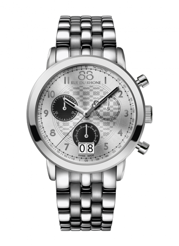 88 Rue Du Rhone Double 8 Origin 45mm Quartz Chronograph 87WA140032 - Arnik Jewellers