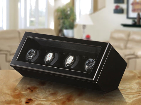 Boxy DC Series Quad Watch Winder - Arnik Jewellers
