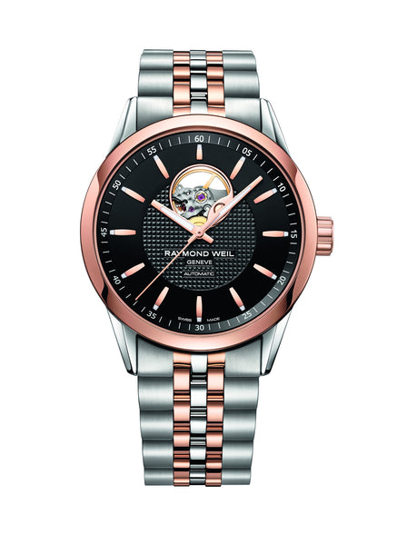Raymond Weil Freelancer Automatic 42mm Rose Gold PVD/Stainless Steel 2710SP520021 - Arnik Jewellers