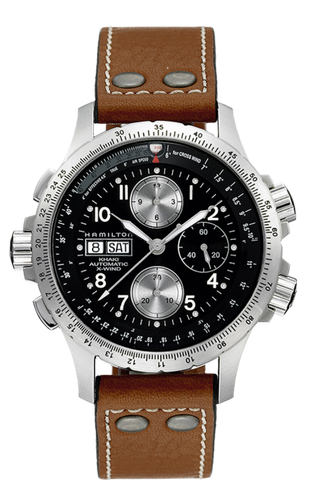 Hamilton Khaki Aviation X-Wind Automatic Chronograph H77616533 - Arnik Jewellers