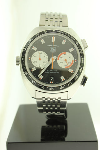 Tag Heuer Autavia Automatic Chronograph Stainless Steel CY2111 42mm - Arnik Jewellers