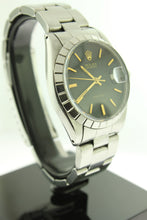 Load image into Gallery viewer, Rolex Oysterdate Precision Stainless Steel 34mm Black Dial 6694 - Arnik Jewellers
