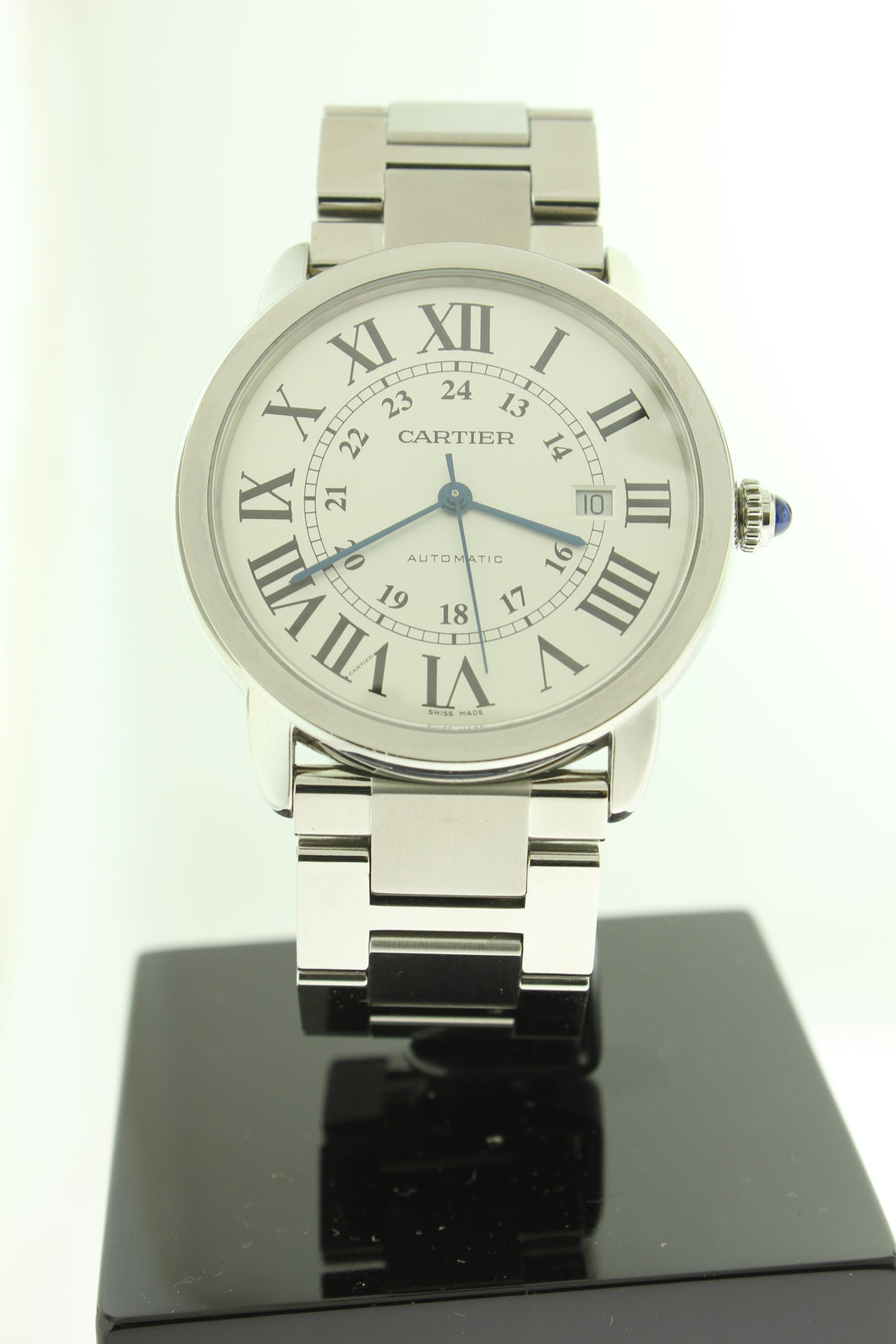 Cartier Ronde Solo XL 42mm Stainless Steel Automatic 3802 - Arnik Jewellers