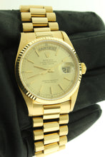 Load image into Gallery viewer, Rolex Day Date President Solid 18K Yellow Gold 36mm Champagne Dial 18038 - Arnik Jewellers