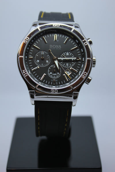 Hugo Boss Chronograph Black Dial Gents Watch - Arnik Jewellers