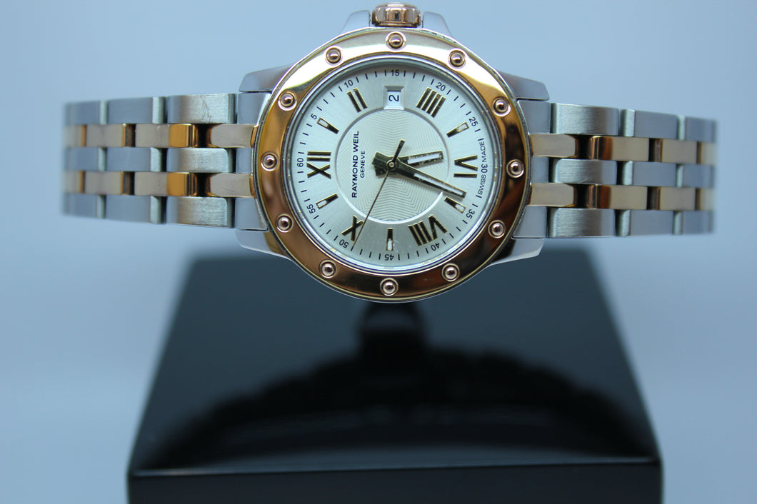Raymond Weil Tango Steel and Rose Gold 5399 - Arnik Jewellers