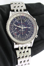 Load image into Gallery viewer, Breitling Navitimer Montbrillant Datora Chronograph Steel Black Dial A21330 - Arnik Jewellers