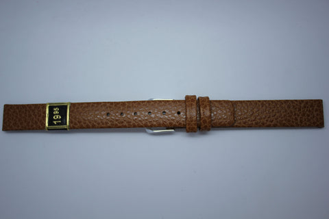 12mm Flat Calf Leather - Light Brown