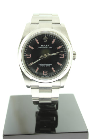 Rolex Oyster Perpetual 36mm Automatic 116000 Black Dial Stainless Steel - Arnik Jewellers