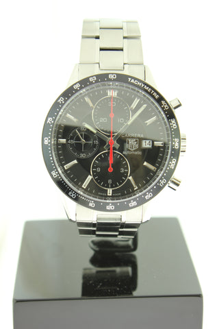 Tag Heuer Carrera Chronograph Automatic Stainless Steel 41mm CV2014 - Arnik Jewellers