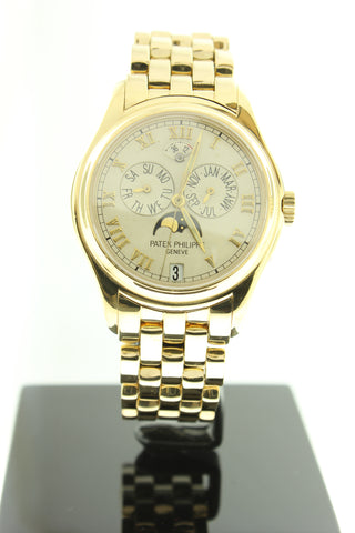 Patek Philippe Annual Calendar Moonphase 5036-1J Solid 18K Yellow Gold - Arnik Jewellers