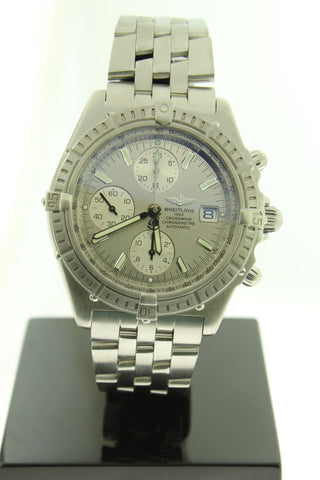Breitling Crosswind Automatic 44mm Chronograph Stainless Steel A13355 - Arnik Jewellers