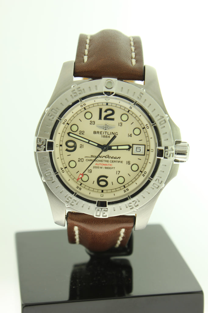 new style 51b12 9d74a Breitling Superocean Steelfish Automatic Stainless Steel 44mm A17390 -  Arnik Jewellers