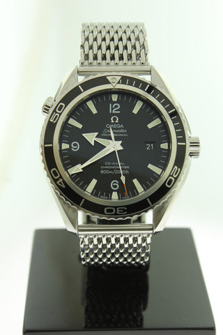 Omega Seamaster Planet Ocean Big Size Co-Axial Automatic Stainless Steel 2200.53.00 45.5mm - Arnik Jewellers
