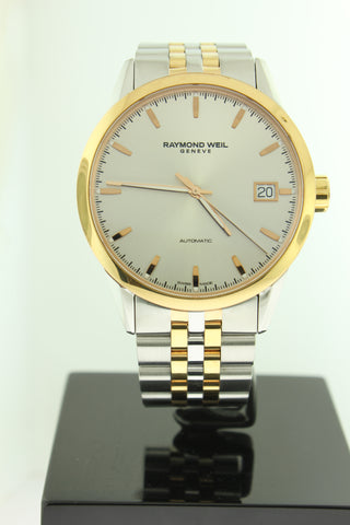 Raymond Weil Freelancer Automatic 42mm Rose Gold PVD/Stainless Steel Watch 2740SP565011 - Arnik Jewellers