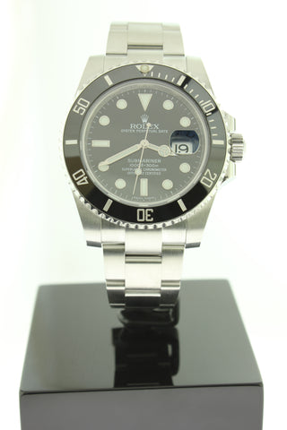 Rolex Submariner Date Black Dial Ceramic Bezel 40mm 116610LN - Arnik Jewellers