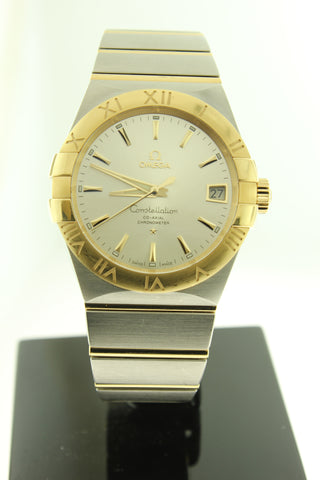 Omega Constellation Co-Axial Automatic 18K Yellow Gold & Stainless Steel 38mm - Arnik Jewellers