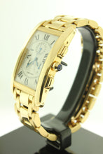 Load image into Gallery viewer, Cartier Tank Americaine Solid 18K Yellow Gold Chronograph 1730 - Arnik Jewellers